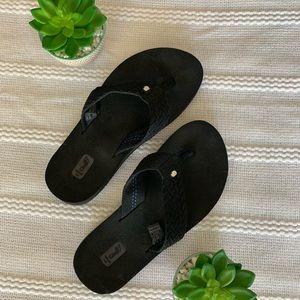 Teva Black Flip Flops